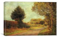 Country Road 2, Canvas Print
