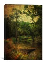 River Bend - Portrait Version, Canvas Print
