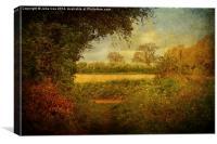 Footpath, Canvas Print