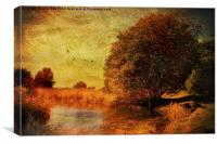 Autumn Holkham, Canvas Print