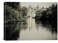 Withe Hall, Canvas Print