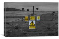 Warning Signs, Canvas Print