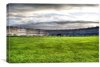 The Royal Crescent, Canvas Print