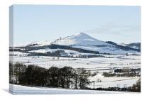 Winter Lomond Hills, Canvas Print