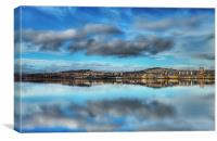 Dundee Reflections, Canvas Print
