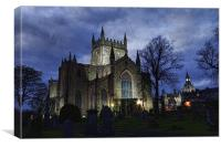 Dunfermline Abbey at night