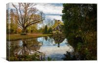 Falkland Reflections, Canvas Print