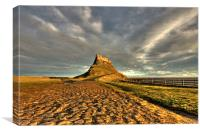 Holy Island, Canvas Print