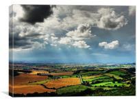 Sunny Spells & Storms, Canvas Print