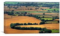English Countryside, Canvas Print