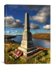 Skye War Memorial, Canvas Print