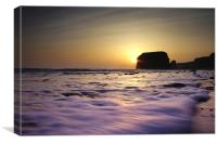 Marsden Sunrise , Canvas Print