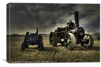 The Fordson & the Fowler, Canvas Print