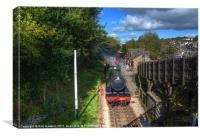 Great Western in Bronte Country, Canvas Print