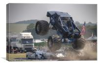 Monster Truck Madness, Canvas Print