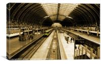 Paddington Station, Canvas Print