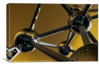 Atomium, Canvas Print