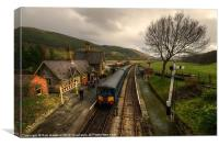 Dmu at Carrog, Canvas Print
