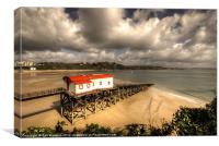 The Old Lifeboat Ramp, Canvas Print