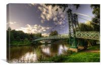 Footbridge over the Severn
