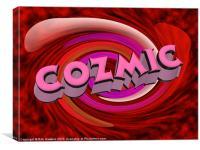 Cozmic, Canvas Print
