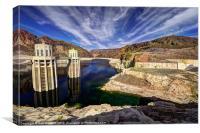 Hoover Reservoir, Canvas Print