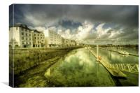 St Peter Port Marina, Canvas Print