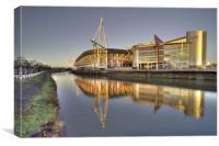 Millennium Stadium, Canvas Print