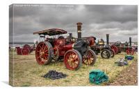 Dorset Engines , Canvas Print