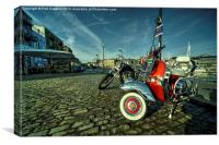 Barbican Scooter , Canvas Print