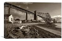 Forth Rail Bridge , Canvas Print