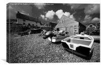 Cadgwith mono , Canvas Print
