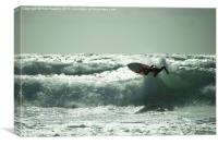 Surf Atlantica , Canvas Print