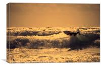 Atlantic Surf , Canvas Print