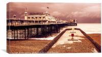 Brighton's Grand Pier , Canvas Print