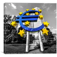 EU Bank , Canvas Print