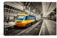 HST Paddington , Canvas Print