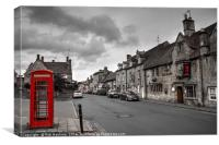 The Red Lion at Chipping Camden , Canvas Print