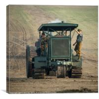 Gun Tractor , Canvas Print
