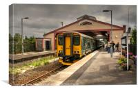 Frome Station , Canvas Print