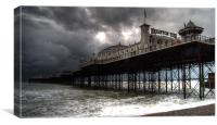 The Palace Pier of Brighton, Canvas Print