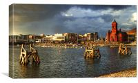 Cardiff Bay HDR, Canvas Print