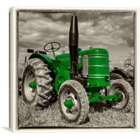 Green Marshall , Canvas Print