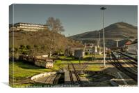 Regua depot , Canvas Print
