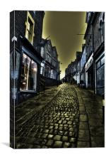 Stoney St @ Frome, Canvas Print