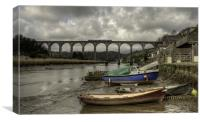 Calstock Viaduct, Canvas Print