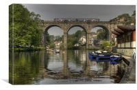 Knaresborough Viaduct, Canvas Print