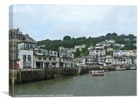 Looe Cornwall, Canvas Print