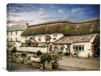 The Thatch, Canvas Print