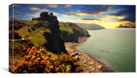 Valley of the Rocks 2, Canvas Print